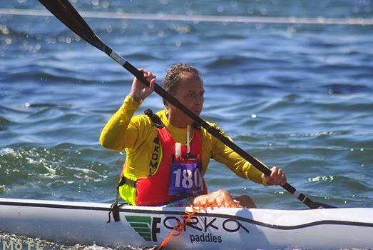 Paco Calatayud Campeón de Europa de Surfski  Bronce de